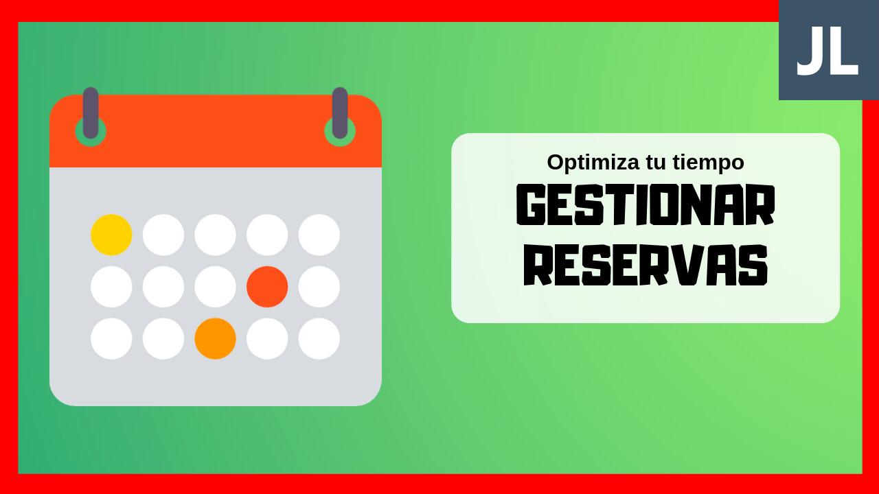 Gestión de reservas