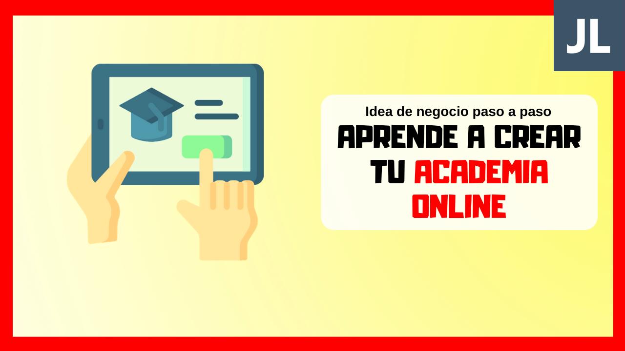 Cómo crear una academia online